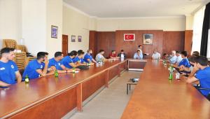Sorgun Belediyespor'da toplu imza töreni düzenlendi