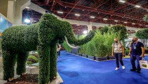 Antalya'da Süs Bitkileri Peyzaj, Bahçecilik ve Üretim Teknolojileri Fuarı düzenlendi