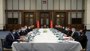 Cumhurbaşkanlığı Külliyesi'nde vergilerle ilgili düzenleme ihtiyaçlarına yönelik toplantı