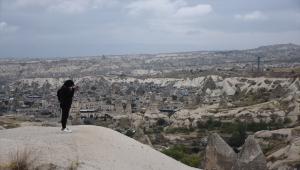 Fotoğraf meraklıları, Türkiye'nin tanıtımı amacıyla Kapadokya'yı fotoğrafladı