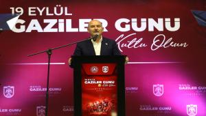 İçişleri Bakanı Süleyman Soylu, Sivas'ta Gaziler Günü programında konuştu: (3)