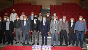 Kaymakam Oktay Erdoğan muhtarlarla tanışma toplantısı düzenledi
