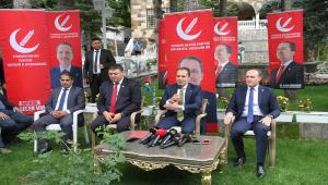 Yeniden Refah Partisi Genel Başkanı Erbakan, Kayseri'de gündemi değerlendirdi: