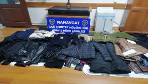 Antalya'da mağazalardan hırsızlık yapan 2 yabancı uyruklu zanlı tutuklandı