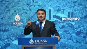 Babacan, partisinin Kahramankazan İlçe Kongresi'ne katıldı