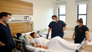 Eskişehir'de bir hastanın karnından