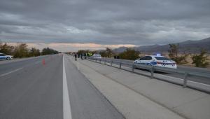 Karaman'da lise öğretmeni motosiklet sürücüsü kazada hayatını kaybetti