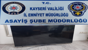 Kayseri'de hırsızlık şüphelilerine yönelik operasyonda 3 kişi yakalandı