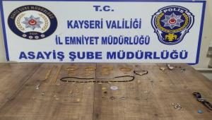 Kayseri'de hırsızlık zanlısı 6 şüpheli yakalandı