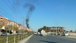 Konya Spor ve Kongre Merkezi'nin çatısında çıkan yangın söndürüldü