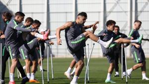 Konyaspor, Kayserispor maçının hazırlıklarını tamamladı