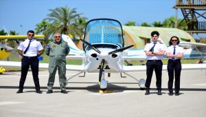 KTO Karatay Üniversitesinde paraşütlü eğitim uçaklarının kullanımına başlanacak