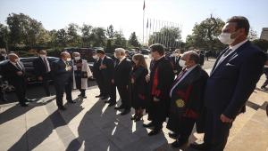 Şentop, Ankara Üniversitesi 2021-2022 Akademik Yılı Açılış Töreni'nde konuştu: