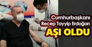 Cumhurbaşkanı Erdoğan Covid-19 Aşısı Oldu