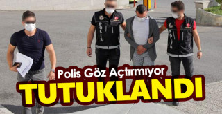 Polis Göz Açtırmıyor! Operasyonda Yakalanmıştı, Tutuklandı