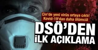 Çin'de yeni virüs ortaya çıktı! Kovid-19'dan daha ölümcül!