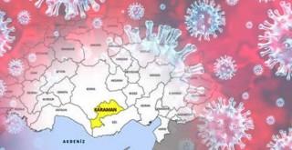 Karaman'da koronavirüs vaka sayısı Sağlık Bakanlığı'nın raporuna yansıdı