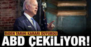 ABD Başkanı Biden'dan tarihi Afganistan kararı!