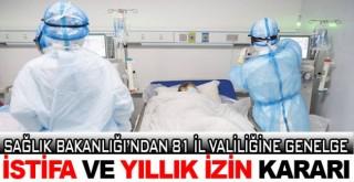 Sağlık Bakanlığı kritik kararı açıklandı!