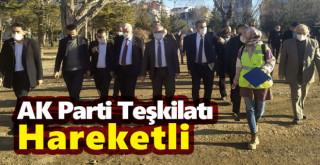 AK Parti Teşkilatı Hareketli