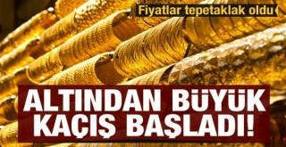 Altından Büyük Kaçış Başladı! Fiyatlarda Düşüş Sürüyor