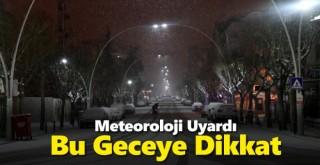 Karaman'da hava buz kesecek!