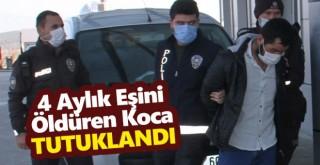 Konya'da dört ay önce evlendiği eşini bıçaklayarak öldüren koca tutuklandı