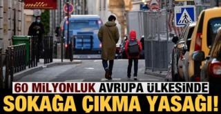 Avrupa ülkesinde sokağa çıkma yasağı ilan edildi!