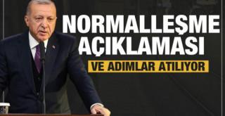 Cumhurbaşkanı Erdoğan'dan bayram sonrası normalleşme açıklaması