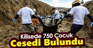 Kilisede 750 Çocuk Cesedi Bulundu