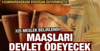 25 meslek belirlendi, ücretlerini devlet ödeyecek!