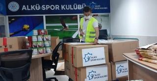 ALKÜ Spor Kulübü'nden İhtiyaç Sahiplerine Destek