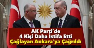 Karaman AK Parti'den 4 kişi Daha İstifa Etti