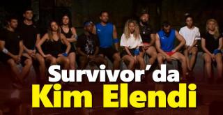Survivor Bu Hafta Kim Elendi? 20 Nisan 2021