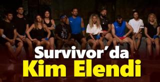 Survivor Bu Hafta Kim Elendi? 11 Mayıs 2021