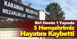 12 Mayıs Karaman'da vefat edenler