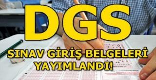 DGS sınava giriş belgeleri erişime açıldı!