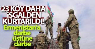Aliyev, 23 köyün daha işgalden kurtarıldı