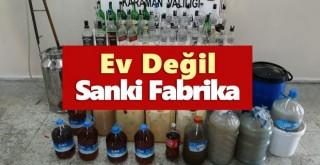 Karaman'da kaçak içki operasyonu