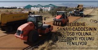 Belediyenin Yol Çalışmaları 2. OSB Yolunda