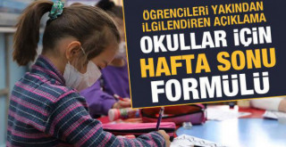 Okullar için yeni formül: Hafta sonuna kaydırılabilir