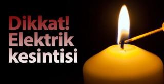 Karaman'daki 2 köyde elektrik kesintisi olacak
