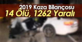 Karaman 2019 Trafik Kazası ve Ölüm Sayıları