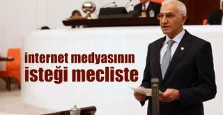 CHP, internet medyasının isteğini Meclis'e taşıdı