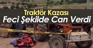 Çapa motoru ile traktörün arasına sıkışan kişi öldü