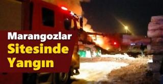 Karaman Marangozlar Sitesinde Yangın