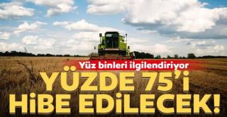 Karaman'da çiftçilere Yüde 75 hibe destek