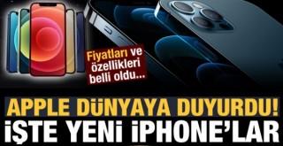 iPhone 12 serisi tanıtıldı!