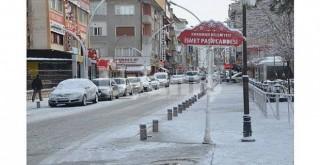Karaman'a kar geliyor!