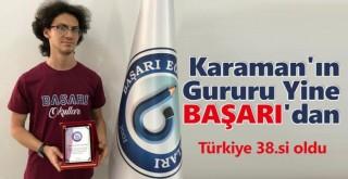 Karaman'ın Gururu Yine Başarı'dan